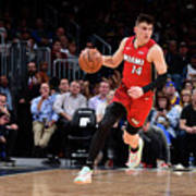 Miami Heat V Denver Nuggets Art Print