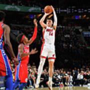 Miami Heat V Philadelphia 76ers Art Print