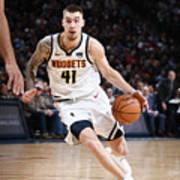 Milwaukee Bucks V Denver Nuggets Art Print