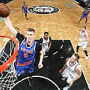 New York Knicks V Brooklyn Nets Art Print