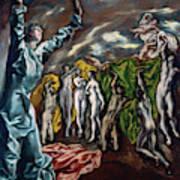 The Vision Of Saint John  Art Print