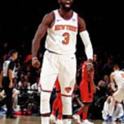 Toronto Raptors V New York Knicks Art Print