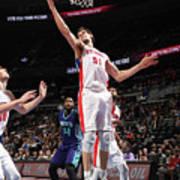 Charlotte Hornets V Detroit Pistons Art Print