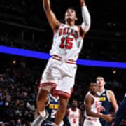 Chicago Bulls V Denver Nuggets Art Print