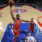 Chicago Bulls V Detroit Pistons Art Print
