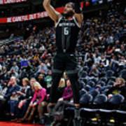 Detroit Pistons V Utah Jazz Art Print