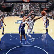 Golden State Warriors V Memphis Art Print