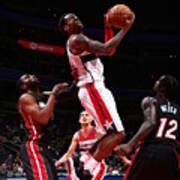 Miami Heat V Washington Wizards Art Print