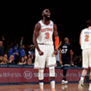 Minnesota Timberwolves V New York Knicks Art Print