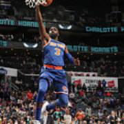 New York Knicks V Charlotte Hornets Art Print