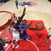 New York Knicks V Washington Wizards Art Print