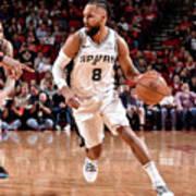 San Antonio Spurs V Houston Rockets Art Print