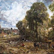 Stoke-by-nayland Art Print