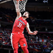 Washington Wizards V Cleveland Cavaliers Art Print
