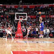 Washington Wizards V La Clippers Art Print