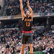 Atlanta Hawks V Indiana Pacers Art Print