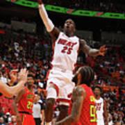 Atlanta Hawks V Miami Heat Art Print