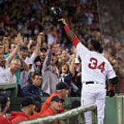 Baltimore Orioles V Boston Red Sox 8 Art Print