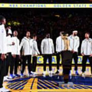 Houston Rockets V Golden State Warriors Art Print