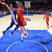 Houston Rockets V Philadelphia 76ers Art Print