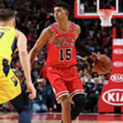 Indiana Pacers V Chicago Bulls Art Print