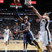 Memphis Grizzlies V San Antonio Spurs - Art Print