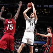 Miami Heat V Brooklyn Nets Art Print