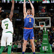 New York Knicks V Boston Celtics Art Print