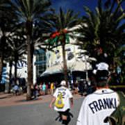 New York Yankees V Tampa Bay Rays Art Print