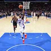 Toronto Raptors V Philadelphia 76ers Art Print