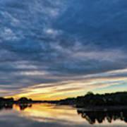 Danvers River Sunset Art Print