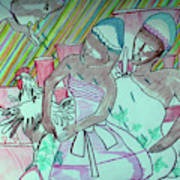 Kintu And Nambi Folktale Art Print