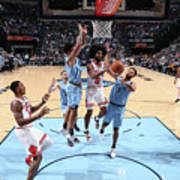 Chicago Bulls V Memphis Grizzlies Art Print