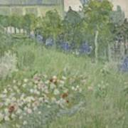 Daubignys Garden  Art Print