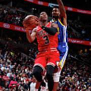 Golden State Warriors V Chicago Bulls Art Print