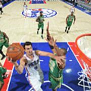 Philadelphia 76ers V Boston Celtics Art Print