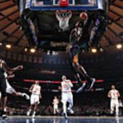 Phoenix Suns V New York Knicks Art Print