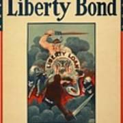 Wartime Propaganda Poster Art Print