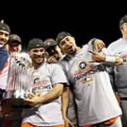 World Series - Houston Astros V Los Art Print