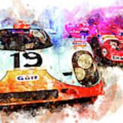 917 At Le Mans Art Print