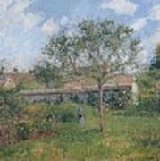 A Corner Of The Meadow At Eragny, 1902 Art Print
