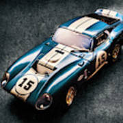 A Daytona Classic Art Print