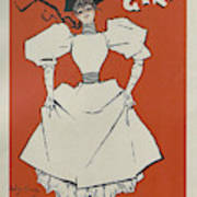 A Gaiety Girl, 1894 French Vintage Poster Art Print
