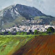 A Greek Village Art Print