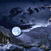 A Haunted Mountain Pass Art Print