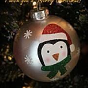 A Merry Christmas Greeting Art Print