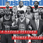 A Nation Divided, Sports United Sports Illustrated Cover Art Print