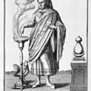 A Representation Of January, 1757 Art Print