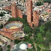 A View Of Downtown Bogota Art Print