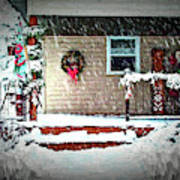A Wisconsin Christmas Art Print